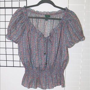 ralph lauren blouse, size L